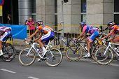Tour De Pologne Cyclists