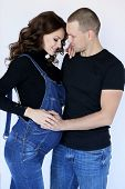 Tender Couple In Casual Clothes poster