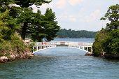shortest international bridge in the world