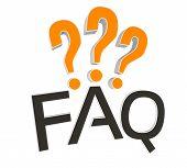 FAQ 3D concept