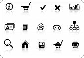 Miscellaneous Vector Web Icons