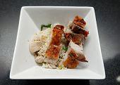 Fried Rice with Crispy Roast Pork