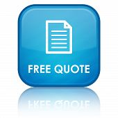 """Free Quote"" blue button"