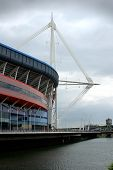 Millennium Stadium In Cardiff Wales Uk