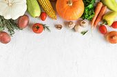Vegetable Cooking Background poster