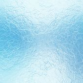 Blue frosty winter background