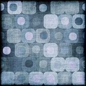 Blue grungy retro pattern background