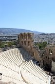 Stone Theatre Odeon Of Herodes Atticus