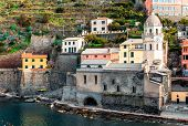 Vernazza Town, Italy.
