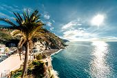 View Of Vernazza Seaside. Vernazza Is A Town In The Province Of La Spezia, Liguria, Northwestern Ita