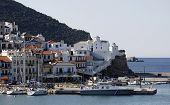 Skopelos Town One Of The Sporades Islands