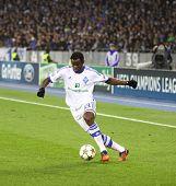 Taye Taiwo Of Fc Dynamo Kyiv