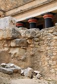 Detail Of Knossos Palace