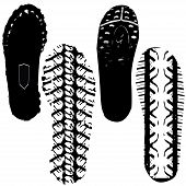 Various Shoeprint