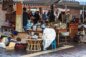 The Cours Saleya Antique Market
