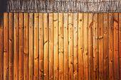 Holzzaun Gartenzaun Hintergrund