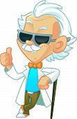 Cool Professor Wearing Sunglasses