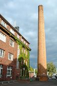 Building And Chimney In Potsdam Germany