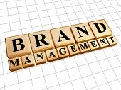 Brand Management In Golden Cubes poster