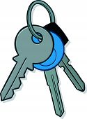 Bunch of house keys