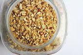 Jar Of Almond Oatmeal