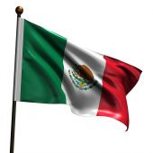 High Resolution Mexican Flag