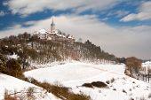 castle Leuchtenburg in winter