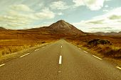 Landscape Of Road To The Errigal Mountains