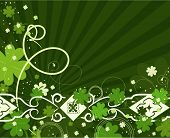 picture of four leaf clover  - Patrick - JPG
