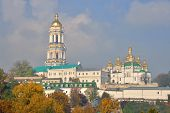 View of the Kiev Lavra in the autumn