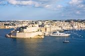 Grand Harbor, Valetta, Capital Of Malta
