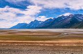 Jackson Lake Low Water Level