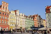 Tenements In Old Market Square, Wroclaw