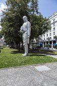 Statue Of Graf Maximilian Joseph Von Montegelas In Munich