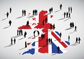 England Business Vector