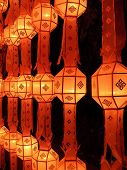 Lamp Of Yee Peng Festival (at Chiangmai Thailand)