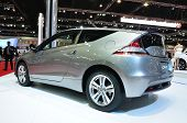 Nonthaburi - March 25: Honda Cr-z On Display At The 35Th Bangkok International Motor Show On March 2