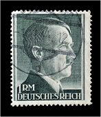 Adolf Hitler stamp 1942
