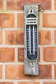 Old Maximum Minimum Thermometer