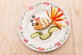 fish cutlet for kids menu