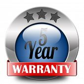 5 year warranty top quality product five years assurance and replacement best top quality guarantee