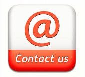 contact us button for feedback icon. Coordinates and address for customer support and extra informat