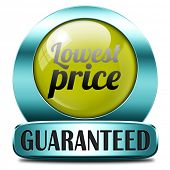 lowest price special offer bargain and sales discount icon label sticker or sign