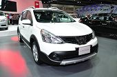 Nonthaburi - March 25: Nissan Livina On Display At The 35Th Bangkok International Motor Show On Marc
