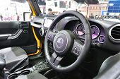 Nonthaburi - March 25: Interior Design Of New Jeep Wrangler Sahara On Display At The 35Th Bangkok In