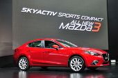 Nonthaburi - March 25: New Mazda 3 On Display At The 35Th Bangkok Thailand International Motor Show