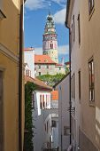 Cesky Krumlov. Vertically (czech Republic)
