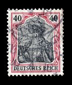 Germania stamp 1920