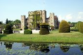 stock photo of hever  - scene of Hever castle in Kent - JPG