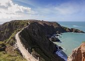 La Coupee On Sark
